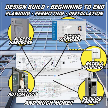 Access Control Automatic Gates Revenue Parking